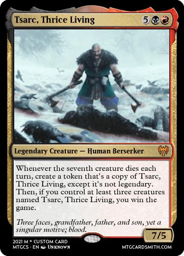 Tsarc Thrice Living