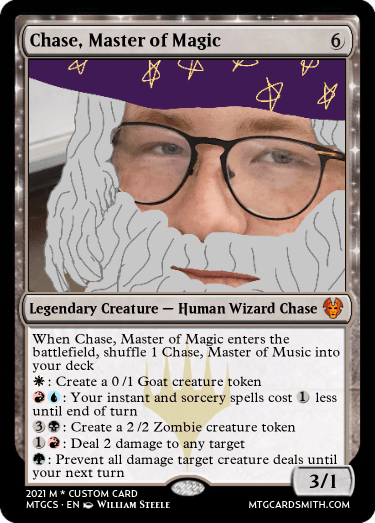 Chase, Master of Magic