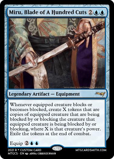 Miru Blade of A Hundred Cuts
