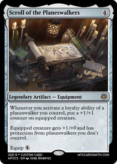 Scroll of the Planeswalkers