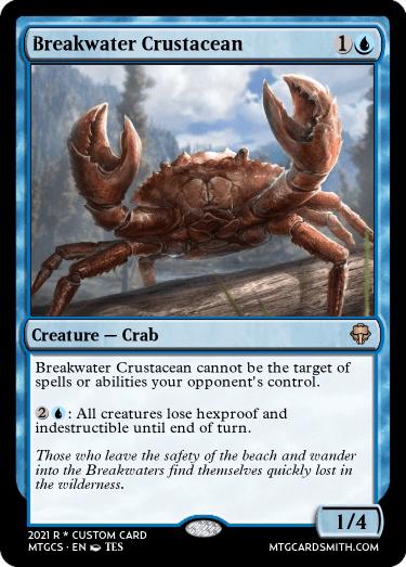 Breakwater Crustacean