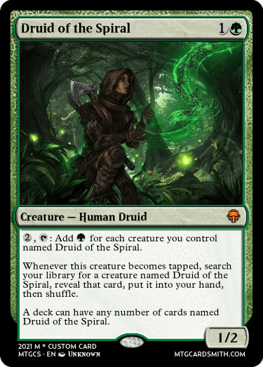 Druid of the Spiral