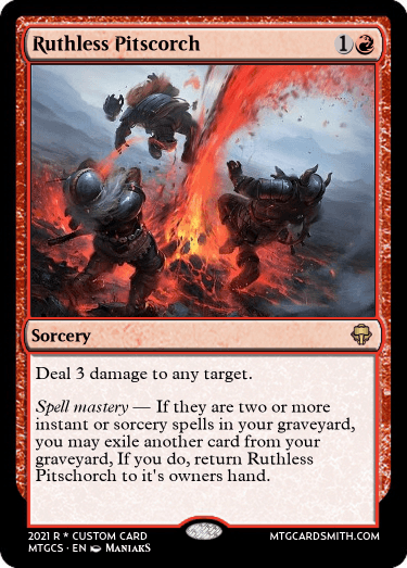 Ruthless Pitscorch