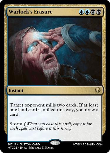 Warlocks Erasure