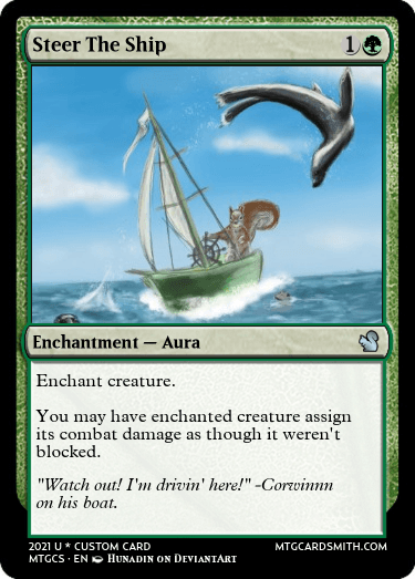 Steer The Ship
