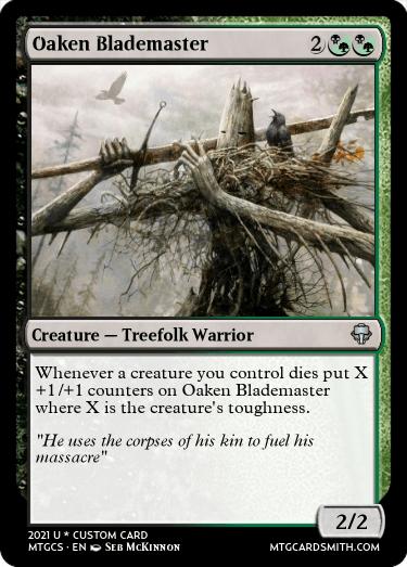 Oaken Blademaster