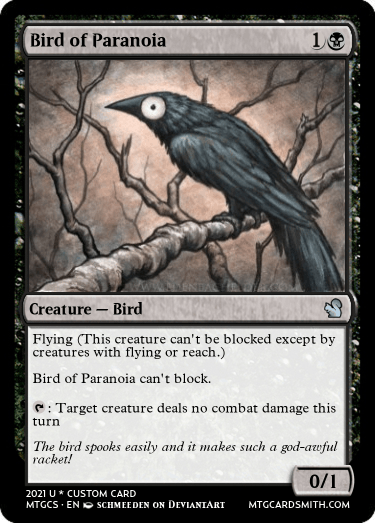 Bird of Paranoia