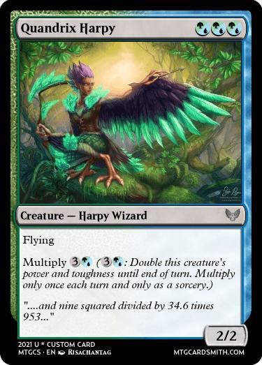 Quandrix Harpy