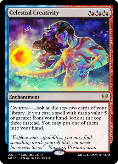 Celestial Creativity