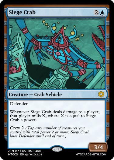 Siege Crab