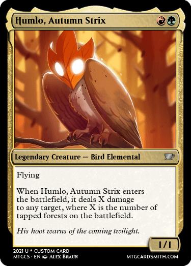 Humlo Autumn Strix