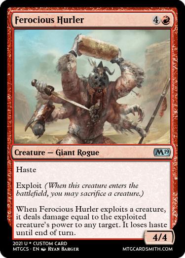 Ferocious Hurler