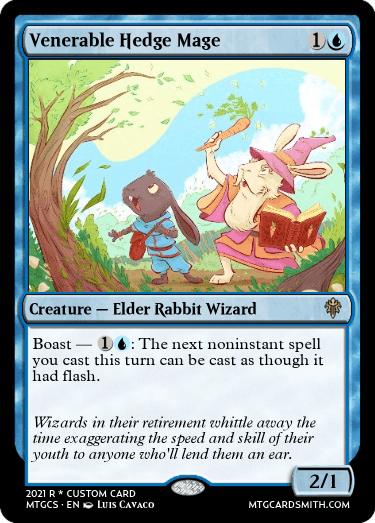 Venerable Hedge Wizard