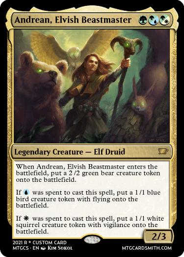 Andrean Elvish Beastmaster