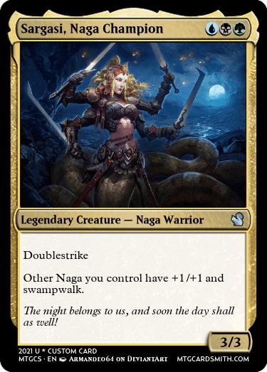 Sargasi Naga Champion