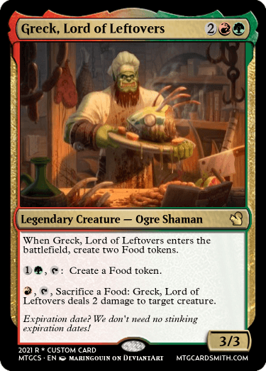 Greck Lord of Leftovers