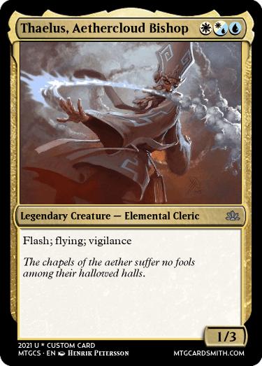 Thaelus Aethercloud Bishop