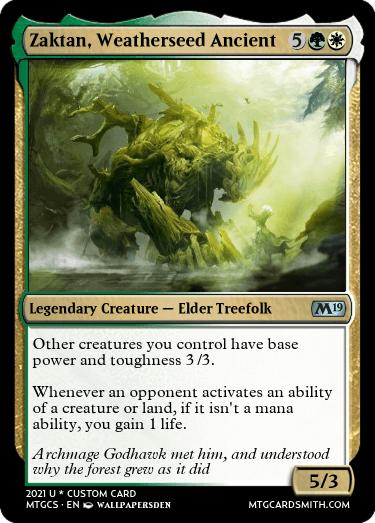 Zaktan Weatherseed Ancient
