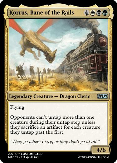 Korrus Bane of the Rails