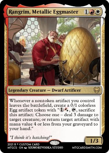 Rangrim Metallic Eggmaster
