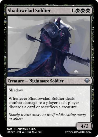 Shadowclad Soldier