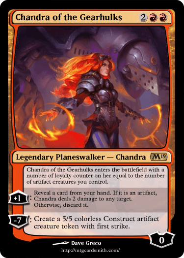 Chandra of the Gearhulks
