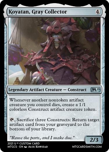 Koyatan Gray Collector