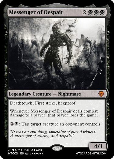 Messenger of Despair