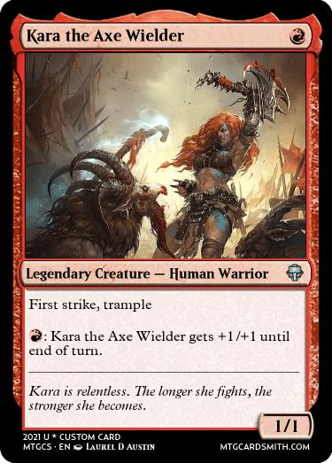 Kara the Axe Wielder