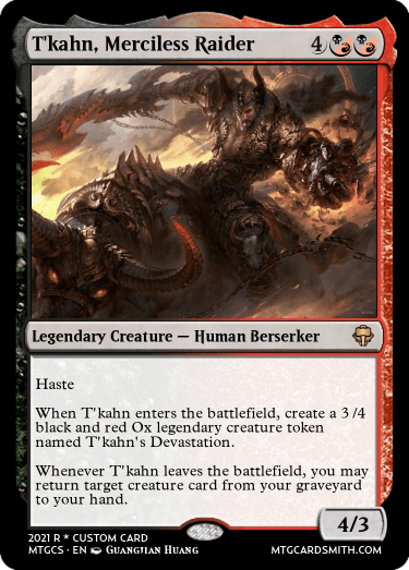 Tkahn Merciless Raider