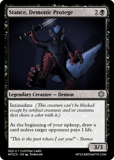 Stance Demonic Protege