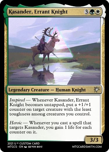 Kasander Errant Knight