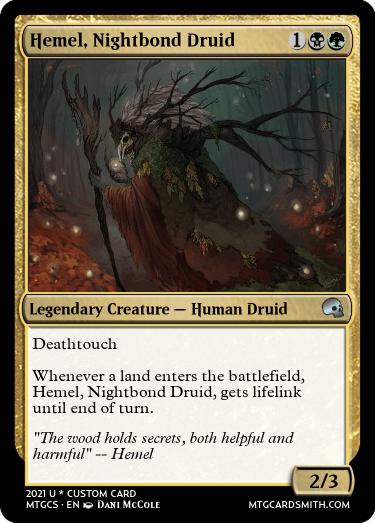 Hemel Nightbond Druid