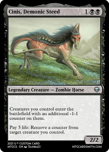 Cinis Demonic Steed