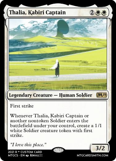 Thalia Kabiri Captain