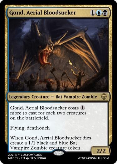 Gond Aerial Bloodsucker