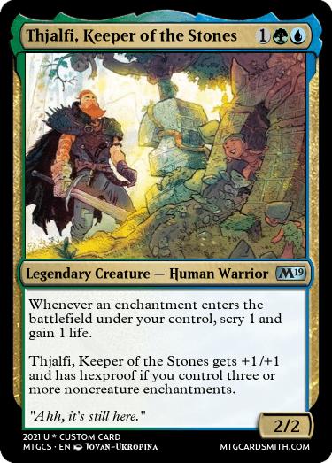Thjalfi Keeper of the Stones