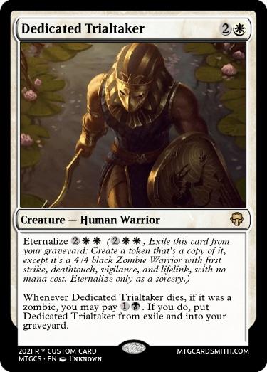 Dedicated Trialtaker