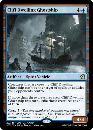Cliff Dwelling Ghostship