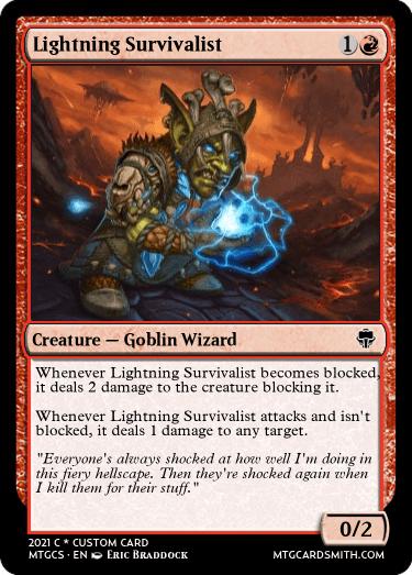 Lightning Survivalist