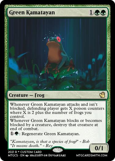Green Kamatayan