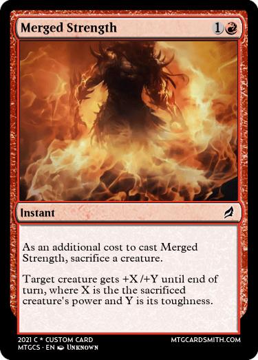 Merged Strength