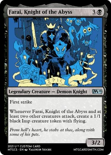Farai Knight of the Abyss