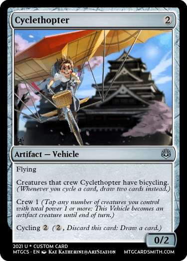 Cyclethopter