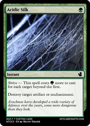 Acidic Silk