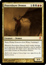 Peaceslayer Demon