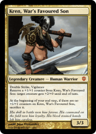 Kren, War's Favoured Son
