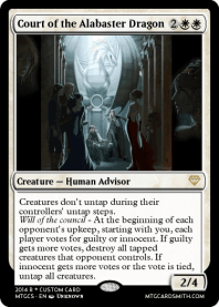 Court of the Alabaster Dragon