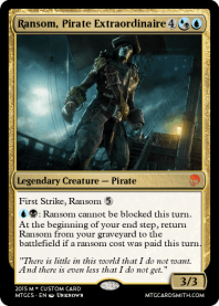 Ransom, Pirate Extraordinaire