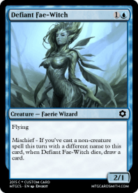 Defiant Fae-Witch
